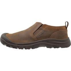 Keen GRAYSON SLIPON Obuwie do biegania Turystyka mid brown/scylum. Brązowe buty do biegania męskie Keen, z materiału. Za 399,00 zł.