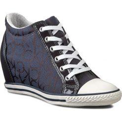 Sneakersy CALVIN KLEIN JEANS - Vero RE9259 Blue. Niebieskie sneakersy damskie marki Calvin Klein Jeans. W wyprzedaży za 309,00 zł.