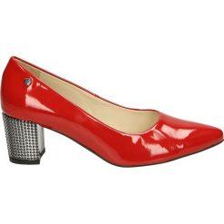 Czółenka - 017 VER ROSSO. Różowe buty ślubne damskie Venezia, ze skóry. Za 189,00 zł.
