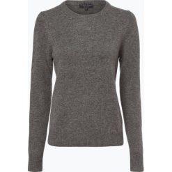 Marie Lund - Sweter damski z wełny merino, szary. Szare swetry klasyczne damskie Marie Lund, xs, z wełny. Za 229,95 zł.