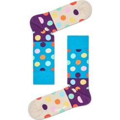 Happy Socks - Skarpety. Szare skarpetki męskie Happy Socks, z bawełny. W wyprzedaży za 29,90 zł.