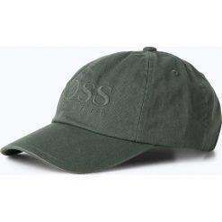 Czapki z daszkiem męskie: BOSS Casual - Męska czapka z daszkiem – Fritz, zielony