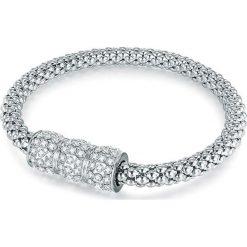 Bransoletki damskie: Powlekana bransoletka z kryształkami