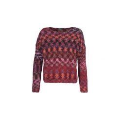 Swetry Benetton  MINETA. Czerwone swetry klasyczne damskie marki Benetton, s. Za 219,00 zł.