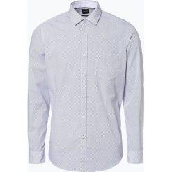 BOSS - Koszula męska – Lucky_53P, niebieski. Czarne koszule męskie na spinki marki Boss, m. Za 429,95 zł.