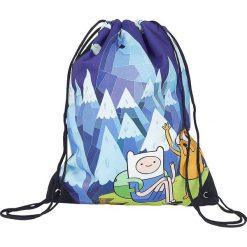 Torebki i plecaki damskie: Adventure Time Blue Mountain Jake & Finn Torba treningowa niebieski