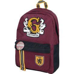 Harry Potter Gryffindor Plecak czerwony. Czerwone plecaki damskie Harry Potter, z aplikacjami. Za 199,90 zł.