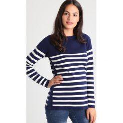 Swetry klasyczne damskie: JoJo Maman Bébé Sweter navy/ecru stripe