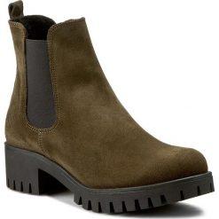 Sztyblety KARINO - 1426/026-F Zielony. Fioletowe buty zimowe damskie marki Karino, ze skóry. W wyprzedaży za 229,00 zł.