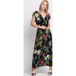 Sukienki: Czarna Sukienka Exotic Heart