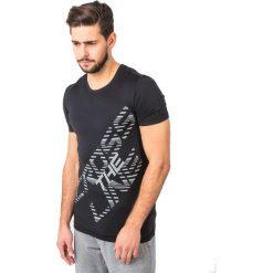 Koszulki sportowe męskie: IQ Koszulka męska LEDO T-SHIRT BLACK r. M