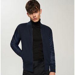 Odzież męska: Bluza typu bomber - Granatowy