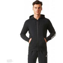 Bejsbolówki męskie: Adidas Bluza adidas ESS Linera FZ Hoodie BR4058 BR4058 czarny XXL