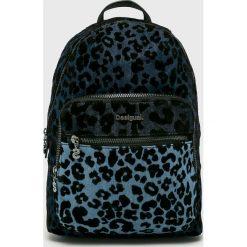Desigual - Plecak. Czarne plecaki damskie marki Desigual, z materiału. W wyprzedaży za 239,90 zł.