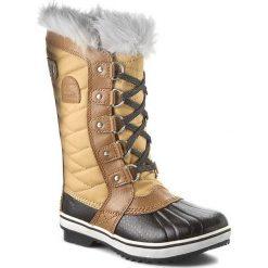 Kozaki dziewczęce: Śniegowce SOREL – Youth Tofino II NY2419 Curry/Reef 373