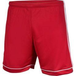 Spodenki sportowe męskie: Adidas Spodenki męskie Squadra 17 czerwono-białe r. M (BK4769)