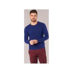 Swetry U.S Polo Assn.  JESSE. Niebieskie swetry klasyczne męskie marki Adidas, m. Za 351,20 zł.
