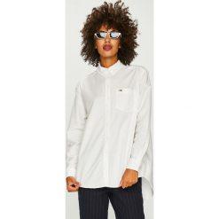 Tommy Jeans - Koszula. Szare koszule jeansowe damskie marki Tommy Jeans, l, casualowe, button down, z długim rękawem. Za 299,90 zł.