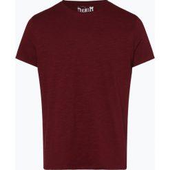 T-shirty męskie: DENIM by Nils Sundström - T-shirt męski, czerwony