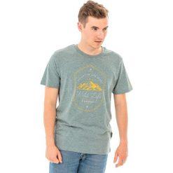Hi-tec Koszulka męska Wilde Light Green Melange r. L. Zielone koszulki sportowe męskie Hi-tec, l. Za 33,75 zł.