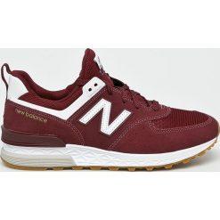 New Balance - Buty MS574FCW. Brązowe buty skate męskie marki New Balance, z gumy, na sznurówki, na fitness i siłownię. Za 449,90 zł.