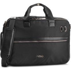 Torba na laptopa NOBO - NBAG-MF0100-C020 Czarny. Czarne torby na laptopa marki Nobo, z materiału. W wyprzedaży za 239,00 zł.