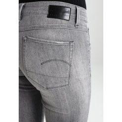 GStar 3301 MID SKINNY  Jeans Skinny Fit tricia grey superstretch. Szare rurki damskie G-Star. W wyprzedaży za 375,20 zł.