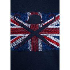 Hackett London CREW Bluza navy. Niebieskie bluzy chłopięce marki Hackett London, z bawełny. W wyprzedaży za 188,30 zł.