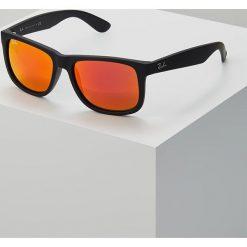 RayBan JUSTIN Okulary przeciwsłoneczne black brown mirror orange. Czarne okulary przeciwsłoneczne męskie aviatory Ray-Ban. Za 589,00 zł.