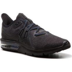 Buty NIKE - Air Max Sequent 3 908993 010 Black/Anthracite. Czarne buty do biegania damskie Nike, z materiału, nike air max. W wyprzedaży za 329,00 zł.