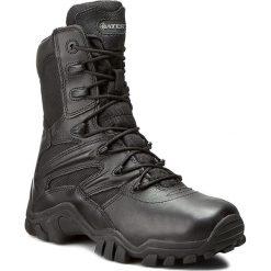 Buty BATES - Delta 8 E02348 Black. Czarne buty trekkingowe męskie Bates, z materiału, na sznurówki, outdoorowe. W wyprzedaży za 489,00 zł.