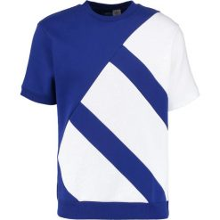 Adidas Originals BOXY Tshirt z nadrukiem mysink. Niebieskie koszulki polo marki adidas Originals, m, z nadrukiem, z bawełny. W wyprzedaży za 213,85 zł.