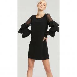 Czarna Sukienka Aognizant. Czarne sukienki hiszpanki other, uniwersalny, mini. Za 69,99 zł.