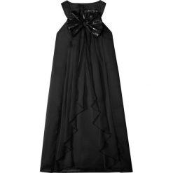 Sukienki dziewczęce: Sukienka na party, z kokardą bonprix czarny