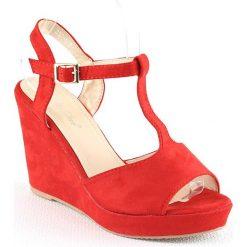 Sandały damskie: Sandały w kolorze czerwonym