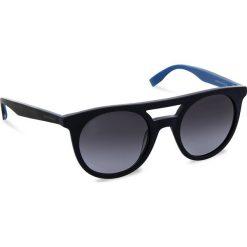 Okulary przeciwsłoneczne BOSS - 0266/S Blue Hvnblue I8V. Niebieskie okulary przeciwsłoneczne damskie aviatory Boss. W wyprzedaży za 379,00 zł.
