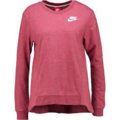 Bluzy damskie: Nike Sportswear GYM VINTAGE Bluza mottled berry