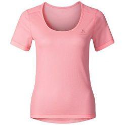 Odlo Koszulka tech. Odlo Shirt s/s crew neck CUBIC TREND - 140481 - 140481S. Różowe topy sportowe damskie marki Odlo, s. Za 149,95 zł.