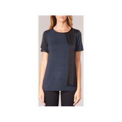 T-shirty z krótkim rękawem Armani jeans  DRANIZ. Czarne t-shirty damskie marki Armani Jeans, z jeansu. Za 487,20 zł.