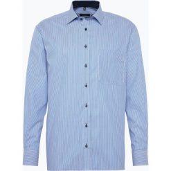 Eterna Comfort Fit - Koszula męska niewymagająca prasowania, niebieski. Niebieskie koszule męskie non-iron Eterna Comfort Fit, m, z bawełny, z długim rękawem. Za 229,95 zł.
