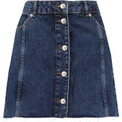 Spódniczki trapezowe: Topshop Petite Spódnica trapezowa blue