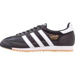 Adidas Originals DRAGON OG Tenisówki i Trampki core black/white. Czarne tenisówki damskie marki adidas Originals, z materiału. W wyprzedaży za 246,75 zł.