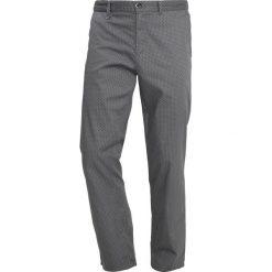 Chinosy męskie: Sisley Spodnie materiałowe antracite
