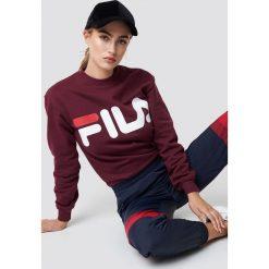FILA Bluza Classic Logo - Purple. Fioletowe bluzy rozpinane damskie Fila, s, z długim rękawem, długie. Za 202,95 zł.