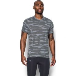 Under Armour Koszulka męska Threadborne Run Mesh SS szara r. XL (1298851 008). Szare koszulki sportowe męskie marki Under Armour, m, z meshu. Za 154,67 zł.
