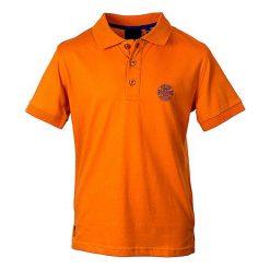 T-shirty chłopięce: Koszulka polo w kolorze pomarańczowym