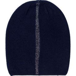 Czapka damska Kaszmirowa rzeka granatowa. Czarne czapki zimowe damskie marki Art of Polo, z kaszmiru. Za 40,85 zł.