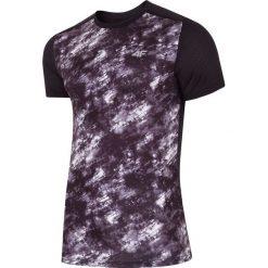 Odzież termoaktywna męska: Koszulka treningowa męska TSMF223 - głęboka czerń allove