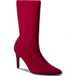 Kozaki EVA MINGE - Jonquera 4A 18SF1372660EF  934. Czerwone buty zimowe damskie Eva Minge, z materiału, na obcasie. W wyprzedaży za 379,00 zł.