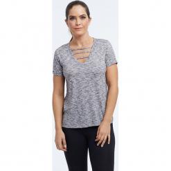 """Koszulka """"Riley"""" w kolorze szarym. Szare t-shirty damskie BALANCE COLLECTION, xs. W wyprzedaży za 65,95 zł."""